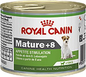 Royal Canin консервы Mature +8, вес 195 гр.