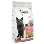 1st Choice для кошек короткошерстных с курицей Vitality, вес 2,72 кг.