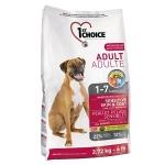 1st Choice для собак с чувствительной шерстью и кожей,вес 15кг.