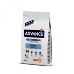 Advance Dog Medium Light для собак контроль веса с курицей и рисом, вес 12 кг.