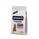 Advance Senior Medium для собак пожилых с курицей и рисом, вес 12 кг.