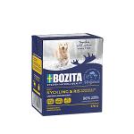 BOZITA консервы для собак, курица и рис в желе, вес 370 гр.