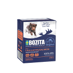 BOZITA консервы для собак, лосось в желе, вес 370 гр.