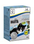 BOZITA консервы для кошек активных мясо лося в желе, вес 190 гр.