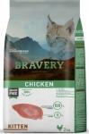 BRAVERY для котят с курицей, 2 кг.