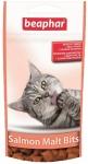 Beaphar Malt Bits Salmon лакомства для кошек выведение шерсти, вес 35 гр