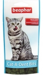 Beaphar подушечки для чистки зубов кошек 35г
