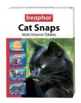 Beaphar Cat snaps витамины для кошек, 75 таблеток