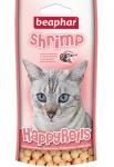 Beaphar Happy Rolls Shrimp рулеты для кошек с креветками 80шт