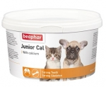 Beaphar Junior Cal минеральная смесь для котят и щенков 200г