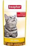 Beaphar Vit Bits подушечки для кошек с витаминной пастой, 35г