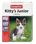 Beaphar Киттис Юниор витамины для котят 150 табл.