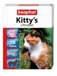 Beaphar Киттис+протеин витамины для кошек 75 табл.