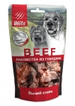 Blitz лакомства для собак бычий стейк, вес 55 гр.