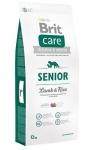 Brit Care Senior All Breed для собак старше 7 лет, ягненок с рисом,1 кг