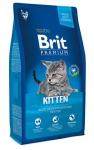Brit Premium для котят с курицей в лососевом соусе, вес 8 кг