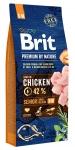 Brit Premium by Nature Senior S+M для пожилых собак мелких и средних пород, 15 кг