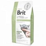 Brit VD для кошек беззерновая диета при диабете, вес 2 кг.