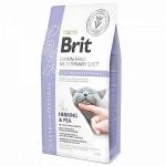 Brit VD для кошек беззерновая диета при остром и хроническом гастроэнтерите, вес 2 кг.