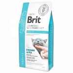 Brit VD для кошек беззерновая диета при избыточном весе и ожирении, вес 2 кг.