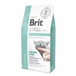 Brit VD для кошек беззерновая диета при струвитном типе МКБ, вес 2 кг.