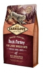 Carnilove Duck & Turkey for Large Breed Cats для кошек крупных пород, утка и индейка 400 гр