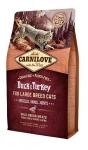 Carnilove для кошек крупных с уткой и индейкой, вес 6 кг.