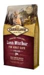 Carnilove Lamb & Wild Boar for Adult Cats Sterilised для кастрированных котов ягненок и дикий кабан 400 гр