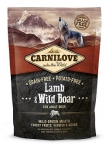 Carnilove Lamb & Wild Boar Dog беззерновой для взрослых собак всех пород, ягненок и дикий кабан,вес 12 кг