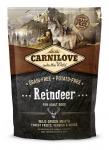 Carnilove Reindeer Dog беззерновой для взрослых собак всех пород, северный олень,вес 1,5 кг