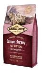 Carnilove для котят с лососем и индейкой, вес 2 кг