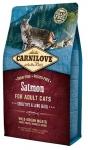 Carnilove Salmon for Adult Cats Sensitive & Long Hair для взрослых кошек, лосось,вес 2 кг