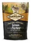 Carnilove Salmon & Turkey for Large Breed Dog беззерновой для взрослых собак крупных пород,вес 1,5 кг