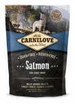 Carnilove Salmon Dog беззерновой для взрослых собак всех пород, лосось,вес 1,5 кг