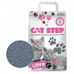 Cat Step Professional Ultra наполнитель комкующийся 5кг