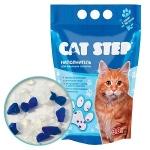 Наполнитель Cat Step силикагелевый голубой, 3,8л