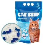 Наполнитель Cat Step силикагелевый голубой, 15,2л