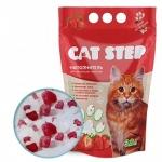 """Cat Step """"Клубника"""" наполнитель силикагелевый 3,8л"""