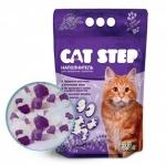"""Cat Step """"Лаванда"""" наполнитель силикагелевый 3,8л"""