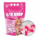 """Наполнитель Cat Step силикагелевый с ароматом """"Сакура"""" 3,8л"""