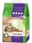 Cats Best Smart Pellets (Nature Gold) комкующийся древесный наполнитель для кошачьего туалета, вес 12 кг (20 л)