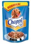 Chappi пауч Мясное изобилие, 100 гр.