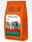 Dailycat Casual line для котят с курицей и говядиной, вес 400 гр.