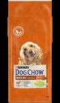 Dog Chow для собак пожилых от 5 до 9 лет с ягненком, вес 2,5 кг.