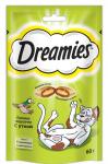 ! Dreamies лакомые подушечки с уткой для кошек 60 гр.
