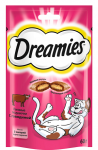 ! Dreamies лакомые подушечки с говядиной для кошек 140 гр.