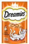 ! Dreamies лакомые подушечки с курицей для кошек 140 гр.