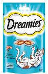 Dreamies лакомые подушечки с лососем для кошек 60 гр.
