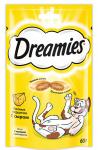 ! Dreamies лакомые подушечки с сыром для кошек 60 гр.