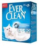 Наполнитель Ever Clean Unscented комкующийся без аромата, вес 6 кг.